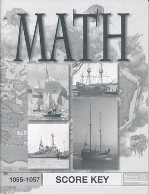 Latest Edition Math PACE SCORE Key 1055-1057 Grade 5  -