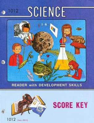 Science PACE SCORE Key 1012 Grade 1  -
