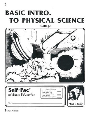 Introduction To Physical Science PACE 6, Grades 9-12   -