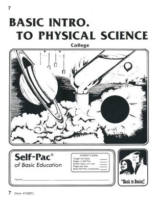 Introduction To Physical Science PACE 7, Grades 9-12   -