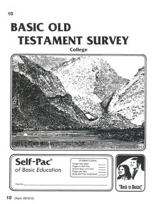 Old Testament Survey PACE 10, Grades 9-12   -