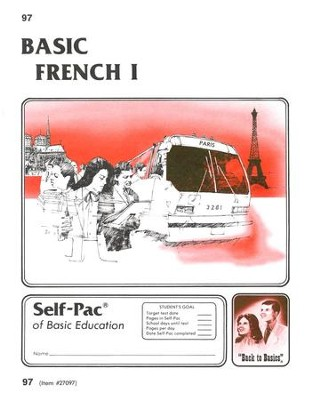 French Self-Pac 97, Grades 9-12   -