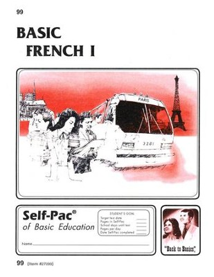French Self-Pac 99, Grades 9-12   -