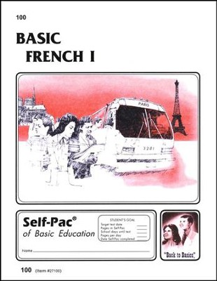 French Self-Pac 100, Grades 9-12  - Slightly Imperfect  -