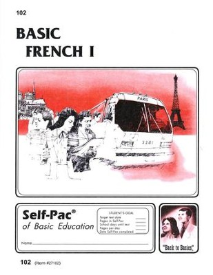 French Self-Pac 102, Grades 9-12   -