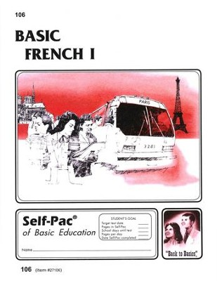 French Self-Pac 106, Grades 9-12   -