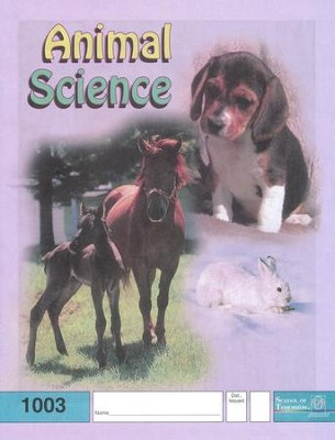 Animal Science PACE 1003, Grade 1   -