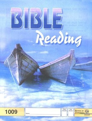 Bible Reading PACE 1009, Grade 1   -