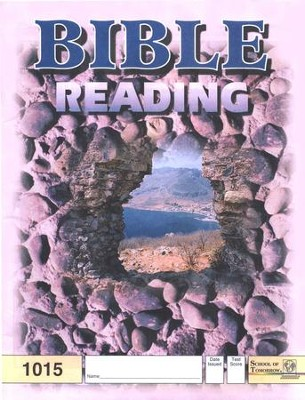 Bible Reading PACE 1015, Grade 2   -