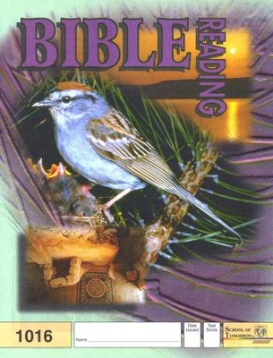 Bible Reading PACE 1016, Grade 2   -
