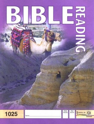 Bible Reading PACE 1025 Grade 3  -