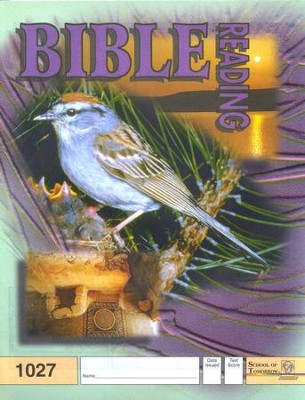 Bible Reading PACE 1027, Grade 3   -