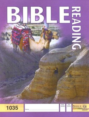 Bible Reading PACE 1035, Grade 3   -