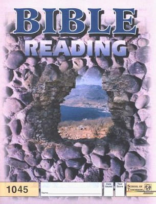 Bible Reading PACE 1045, Grade 4   -