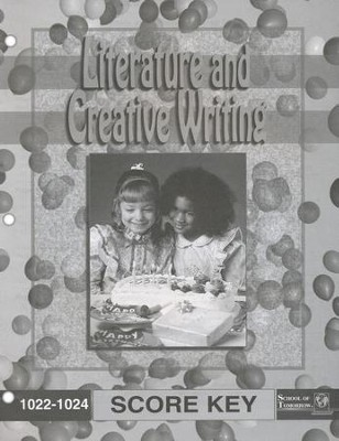 Literature And Creative Writing PACE SCORE Key, Grade 2 1022-1024  -