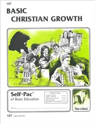 Christian Growth Self-Pac 137, Grades 9-12   -