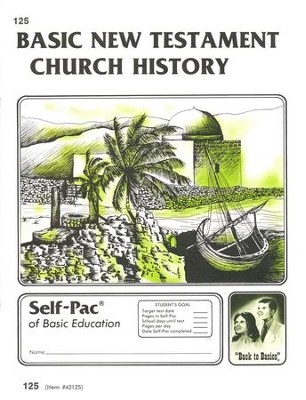New Testament Church History Self-Pac 125, Grades 9-12   -