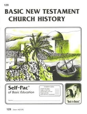 New Testament Church History Self-Pac 129, Grades 9-12   -