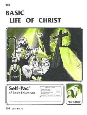 Life Of Christ Self-Pac 140, Grades 9-12   -