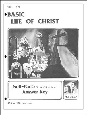 Life Of Christ Self-Pac Key 133-138  -