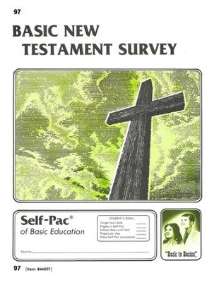 New Testament Survey Self-Pac 97, Grades 9-12   -