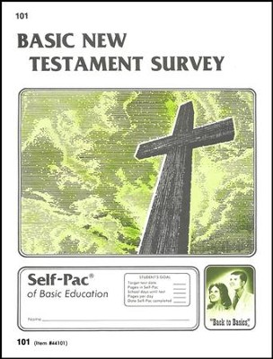 New Testament Survey Self-Pac 101, Grades 9-12   -