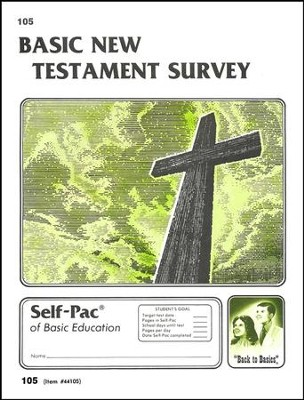 New Testament Survey Self-Pac 105, Grades 9-12   -