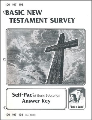 New Testament Survey Key 106-108  -