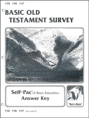 Old Testament Survey Key 115-117  -