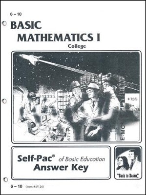 College Math 1 Key 6-10  -