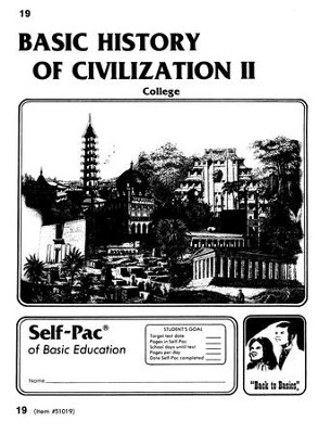 History Of Civilization 2 Self-Pac 19   -