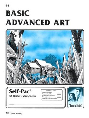 Advanced Art Self-Pac 98, Grades 9-12   -
