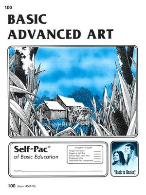 Advanced Art Self-Pac 100, Grdes 9-12   -