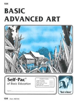 Advanced Art Self-Pac 104, Grades 9-12   -