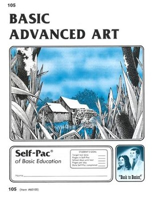 Advanced Art Self-Pac 105, Grades 9-12   -