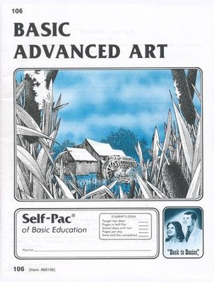 Advanced Art Self-Pac 106, Grades 9-12   -