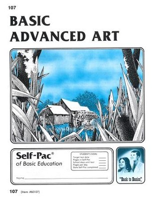 Advanced Art Self-Pac 107, Grades 9-12   -
