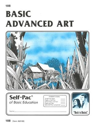 Advanced Art Self-Pac 108, Grades 9-12   -