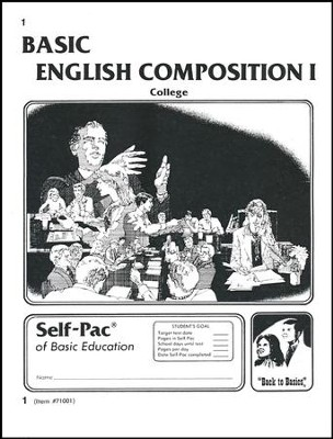 English Composition 1 Self-Pac 1  -