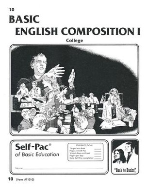 English Composition 1 Self-Pac 10  -