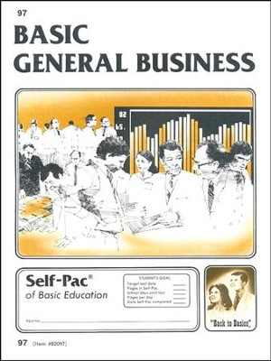 General Business Self-Pac 97 Grade 9  -