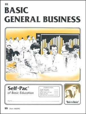 General Business Self-Pac 99 Grade 9  -