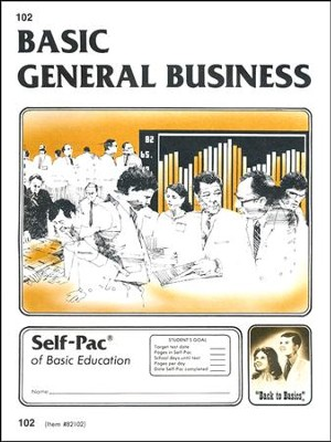 General Business Self-Pac 102 Grade 9  -