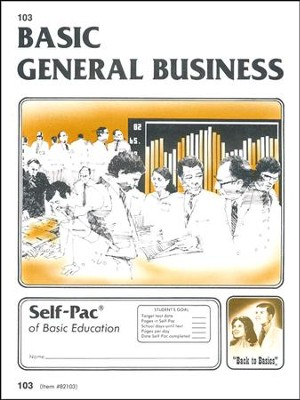 General Business Self-Pac 103 Grade 9  -