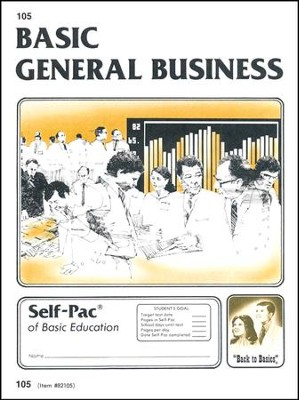 General Business Self-Pac 105 Grade 9  -