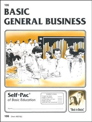 General Business Self-Pac 106 Grade 9  -