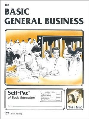 General Business Self-Pac 107 Grade 9  -
