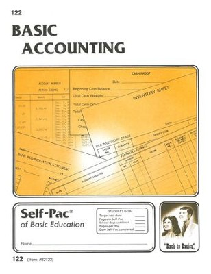 Accounting Self-Pac 122, Grades 9-12   -