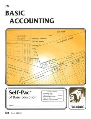 Accounting Self-Pac 124, Grades 9-12   -