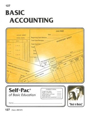 Accounting Self-Pac 127, Grades 9-12   -